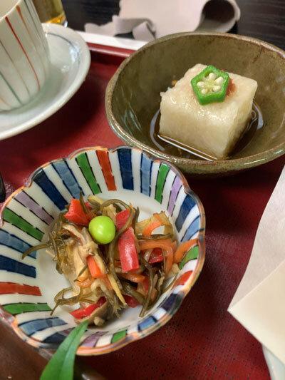 姫路 手打ち蕎麦 梅麟館 蕎麦ランチ 小鉢