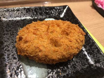 姫路 JR構内 おむすびでござる ひさご コロッケ