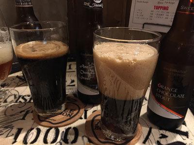 姫路 C・B DINNER JOHSON チョコレートビール