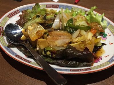 姫路 チャイニーズ キッチン 福福楼 豚のオイスターソース