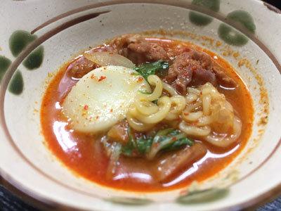 神戸 長田 韓国家庭料理 釜山 プデチゲ
