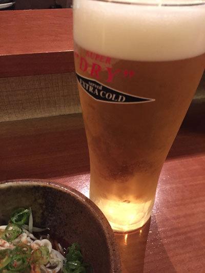姫路 居酒屋 じごろ 小廣 生ビール