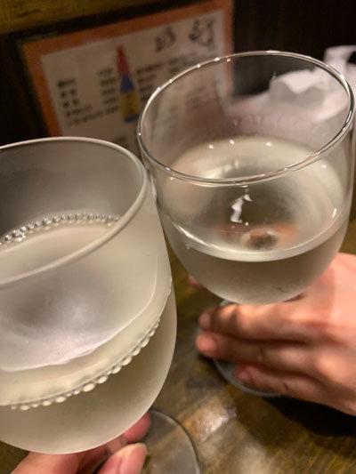 姫路 立呑み めぐみ家 乾杯