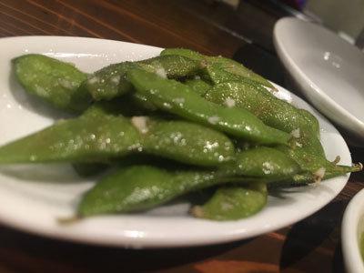 姫路 イタリアン BAR mariamaria 枝豆