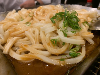 姫路 焼肉ホルモン 五味屋 うどん