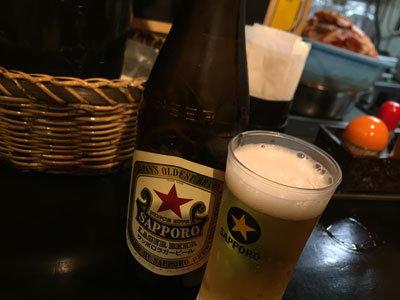 姫路 立呑み たかを 瓶ビール
