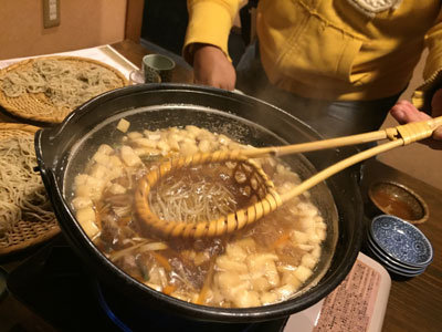 姫路 蕎麦 のりくら とうじ蕎麦