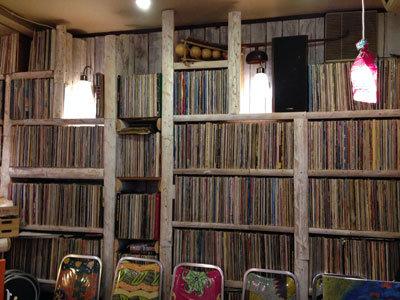 神戸 西元町 のらまる食堂 レコード
