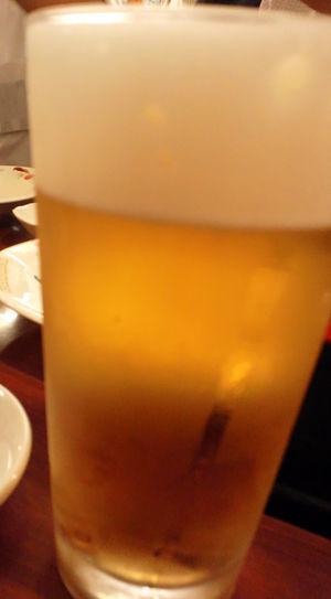 神戸 餃子 瓢たん 生ビール
