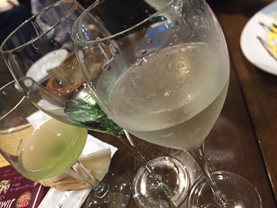 姫路 ワイン バル テルミニ スパークリング