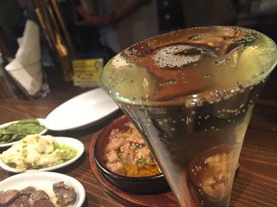 姫路 バル mariamaria スパークリングワイン