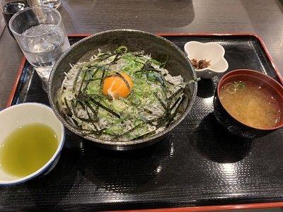 姫路 天晴水産 ぽっぽ家 しらす丼