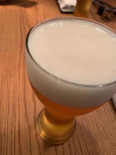 姫路 ネオ・ビストロ Aigrette 生ビール