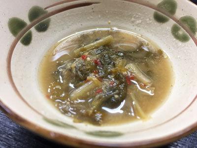 神戸 長田 韓国料理 釜山 いわしスープ
