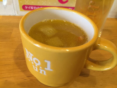姫路 姫路バル あやの気まぐれランチ スープ