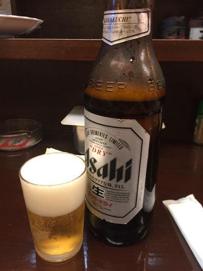 姫路 立呑み処 与太呂 瓶ビール