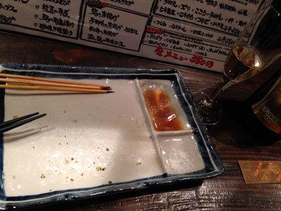 大阪 鶏料理 立呑み たに