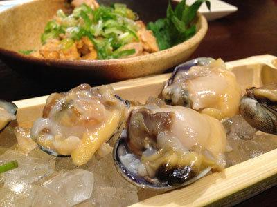 赤穂 牡蠣 かましま あさり 刺身