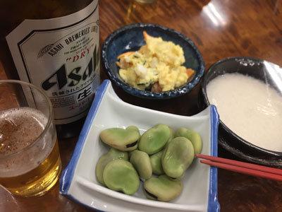神戸 元町 金時食堂 瓶ビール