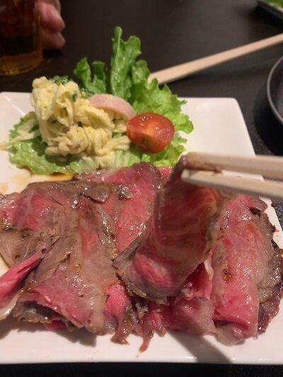 有馬温泉 竹中肉店 ローストビーフ