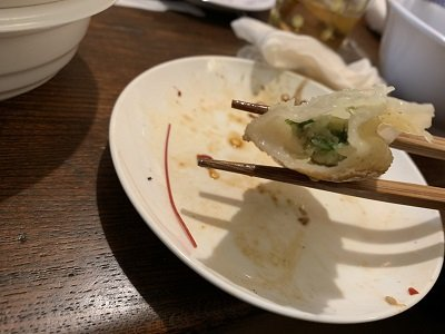 神戸 元町 広東料理 鷹楽園 焼餃子