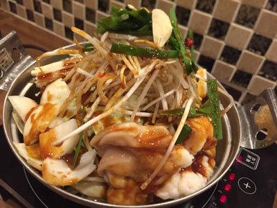 姫路 韓国料理 はるばる ホルモン鍋