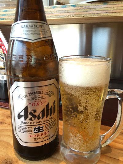 姫路 ラーメン 姫路タンメン 瓶ビール