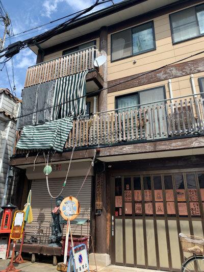 須磨寺前商店街 建物