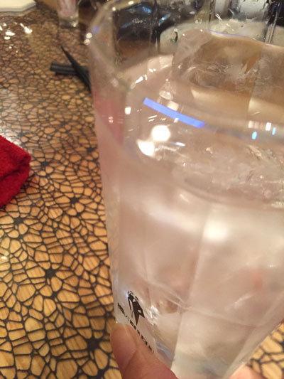 姫路 おばんざい eん 麦焼酎水割り