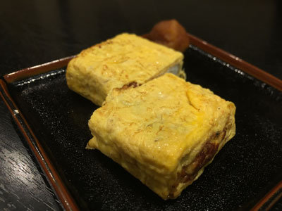 姫路 蕎麦 御座候 ちょい呑みセット 出し巻き卵