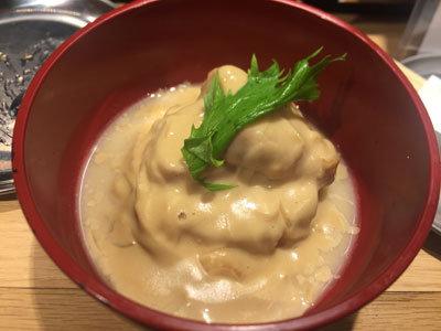 姫路 立吞み 卯の助 コンソメ煮 チーズソースがけ