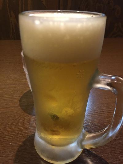 姫路 一張羅 生ビール