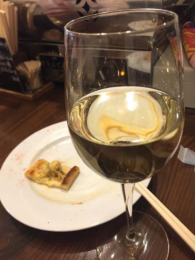 姫路 ワイン バル kagen 白ワイン