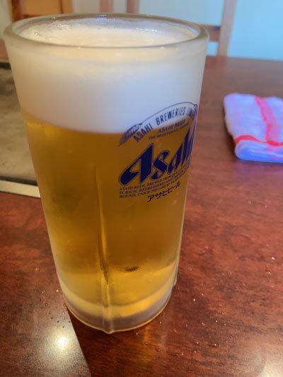 妻鹿 お好み焼き えのき 生ビール