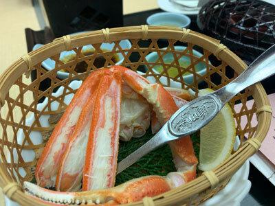 皆生温泉 宴会 紅蟹