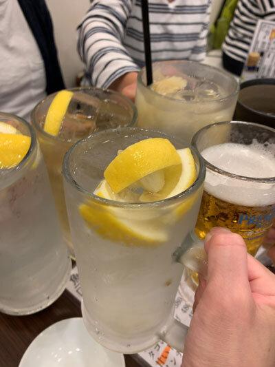 姫路 居酒屋 魚っと 乾杯