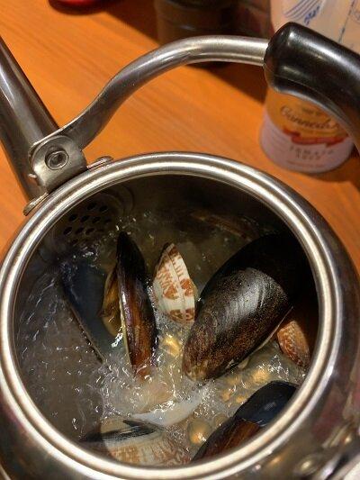 姫路 寿司 Bar アバンサール 蒸し貝