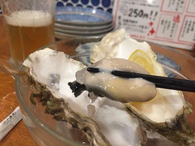 姫路 フェスタバル 2018 ○上水産 生牡蠣