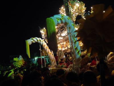 灘 けんか祭り 2014 宵宮