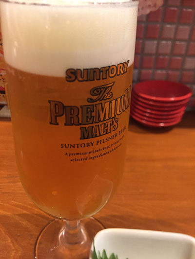 姫路 寿司BAR AVANZAR アバンサール 生ビール