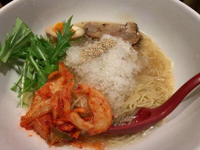 姫路 麺や 六三六 にぼし冷麺
