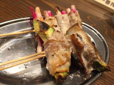姫路 立吞み BOSS豚 野菜肉巻串