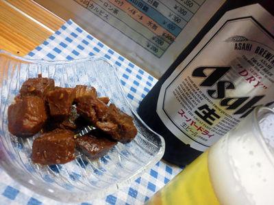垂水 駅前 花福 マグロ ビール