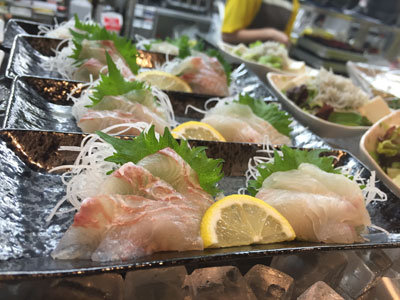 姫路 天晴水産 ぽっぽ家 家島の魚