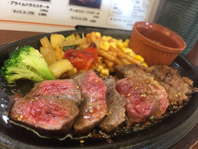 姫路 薪窯 Grill&Highball GEORGE'S ランチ アンガスステーキ