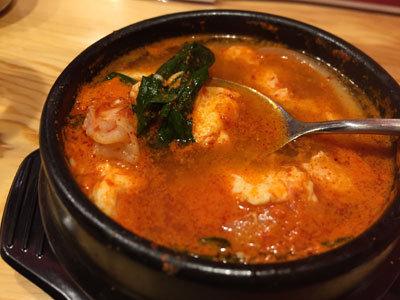 姫路 韓国バル 炭豚舎 ズンドゥブチゲ