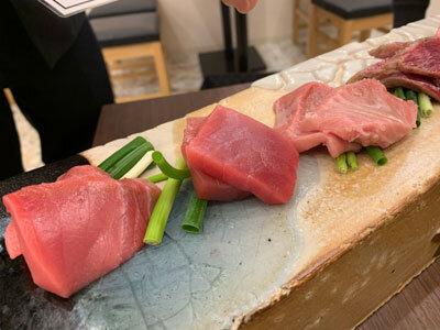 姫路 居酒屋 魚っと まぐろ5種盛り