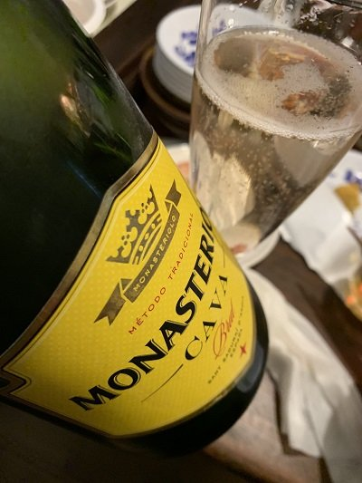 神戸 元町 広東料理 鷹楽園 スパークリングワイン