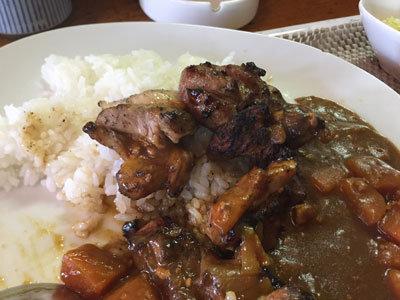 広畑 炭火焼鳥 矮鶏 チキンカレー