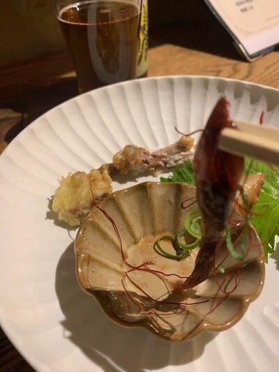 有馬温泉 Fish house cafe ほたるイカ